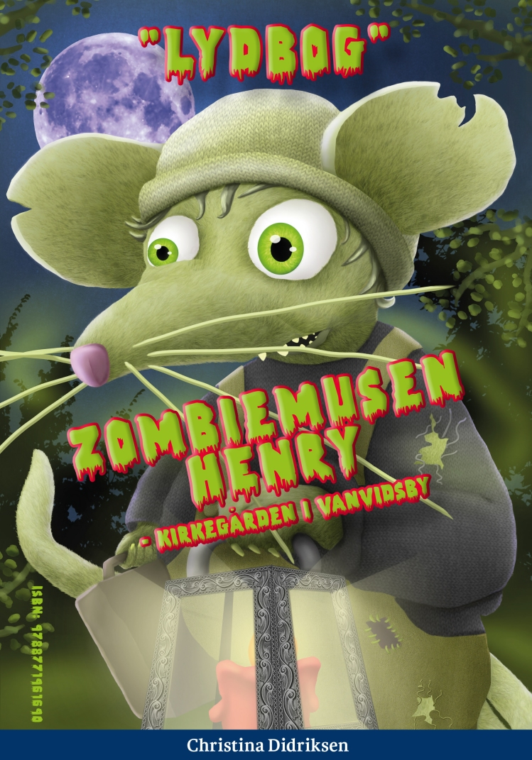 forside_lydbog_Zombiemusen Henry
